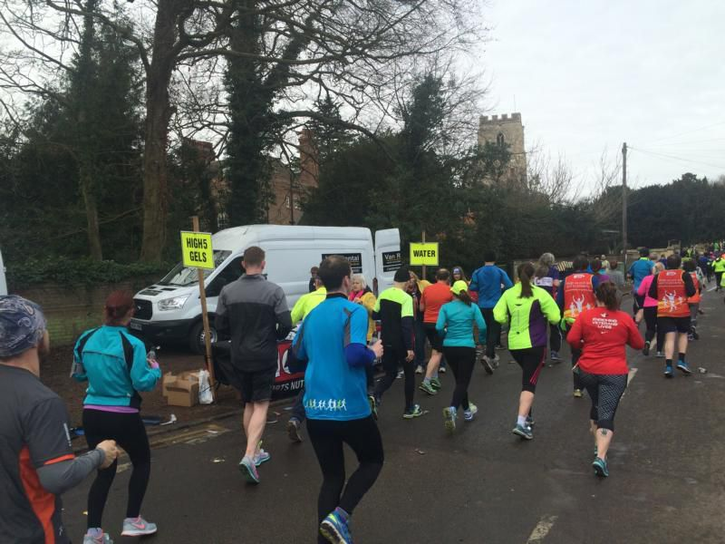 Cambridge Halbmarathon 2016