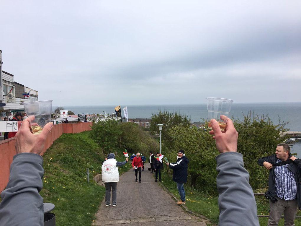 Helgoland - der Lauftag