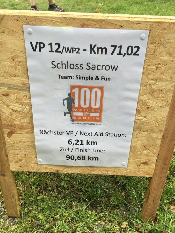 100 Meilen auf dem Mauerweg - Staffellauf