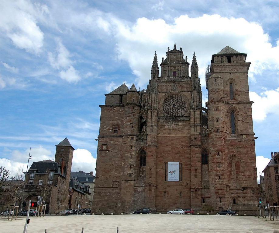 De Zaragoza à Rodez, quelques kms à vol d'oiseau. Photos JLA avril 2016