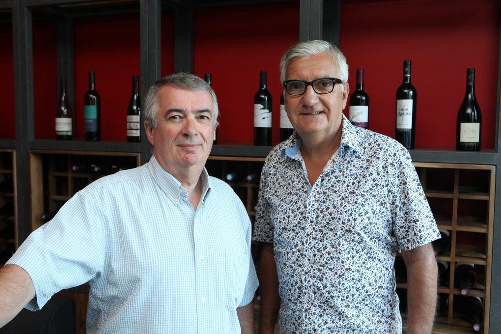 Passation de pouvoir, rencontres avec les vignerons, dégustations et même un peu de tourisme à Saint-Guilhem le Désert ont ponctué ce séjour en Languedoc. © Jean Bernard