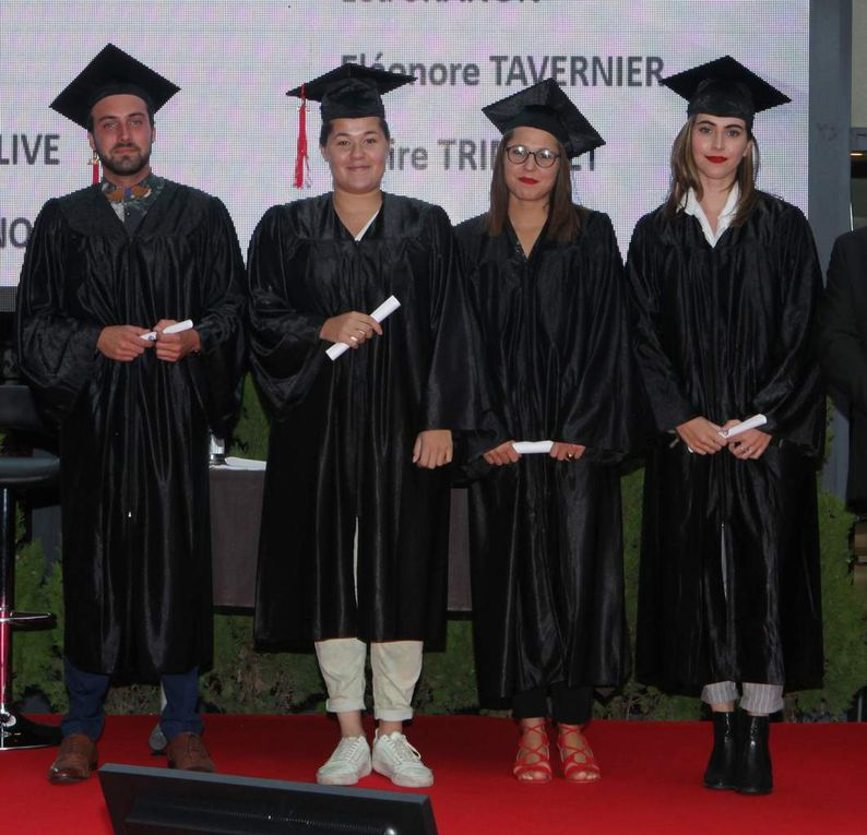 Tous les diplômés de l'école hôtelière ne pouvaient être présents, loin de là, mais ceux qui avaient fait le déplacement ont assuré l'ambiance. Photos Jean Bernard