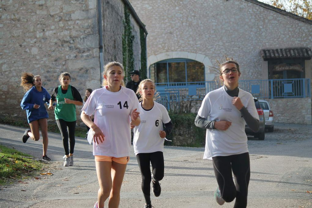 CROSS de district à Monflanquin, mercredi 15 novembre.