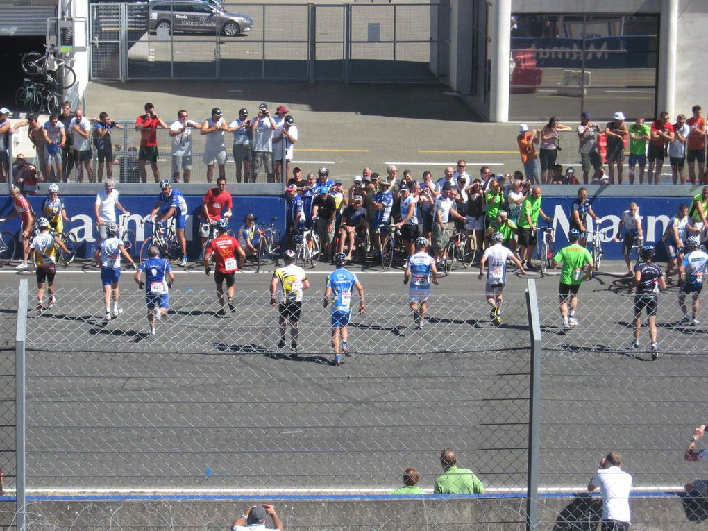 24 heures vélo 2010 et la matinale de décathlon