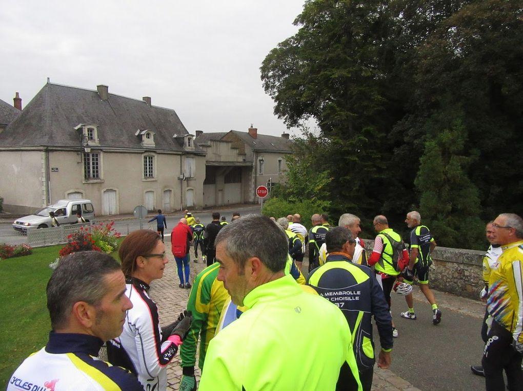 La Dodécaudax  au départ de la Membrolle sur Choisille, plusieurs de nos cyclos  y participaient dont les plus jeunes du club qui ont brillés sur ce 200kms. Belle performance !  Merci aux cyclos membrollais pour la majorité des photos.