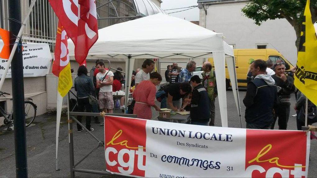 *5ème jour de grève à la PDC de Saint-Gaudens, un grand soutien extérieur*