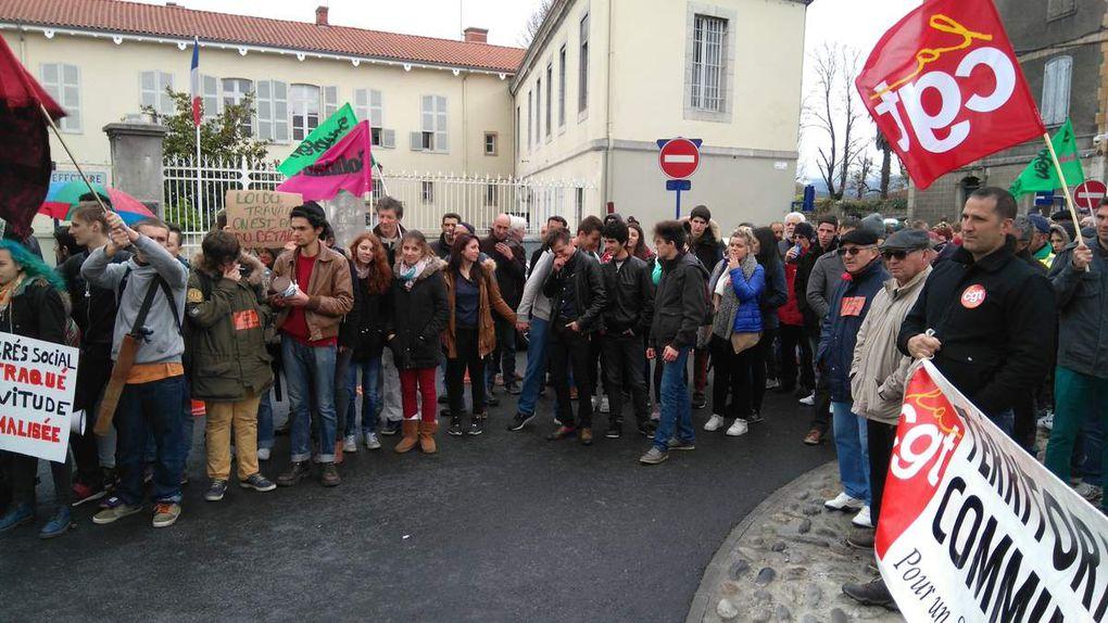 Manif, environ 800 dans les rues, soyons encore plus nombreux par la suite !