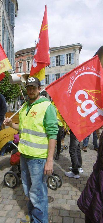 *19 mai 2016, retour sur une mobilisation forte sur Saint-Gaudens*