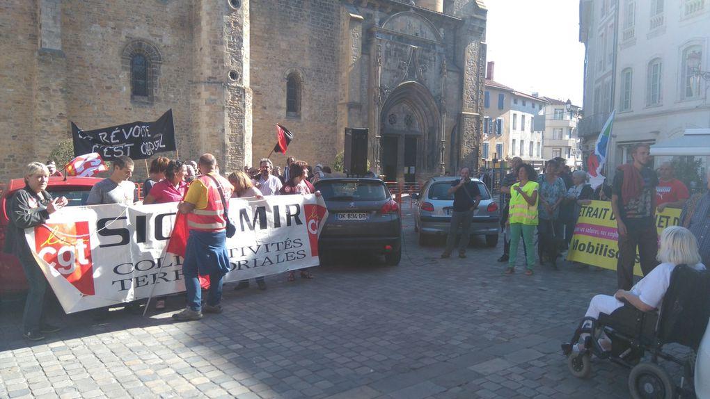 Manif et votation citoyenne à Saint-Gaudens