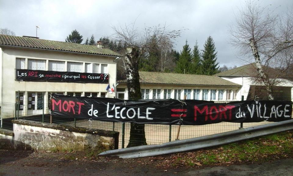 école de Gorse, et rassemblement ce samedi 13 février 2016 à Saint Cirgues, Haut Ségala.
