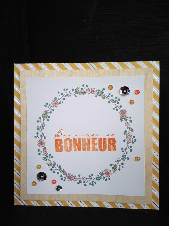 Kit de cartes souhaits champêtres