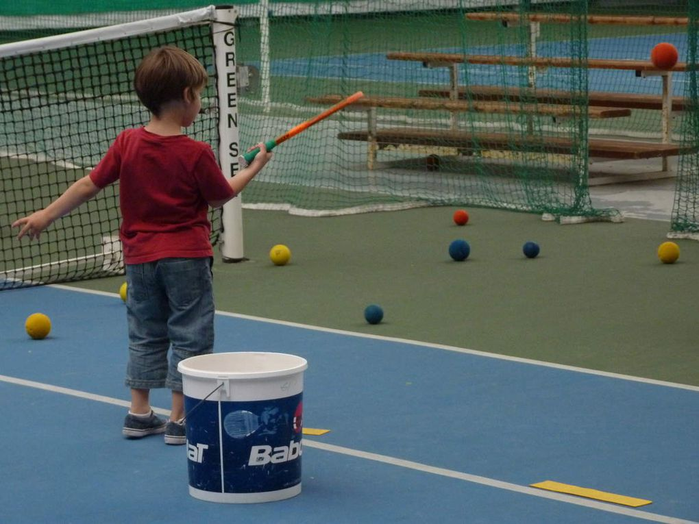 Mini-tennis pour les TPS-PS-MS