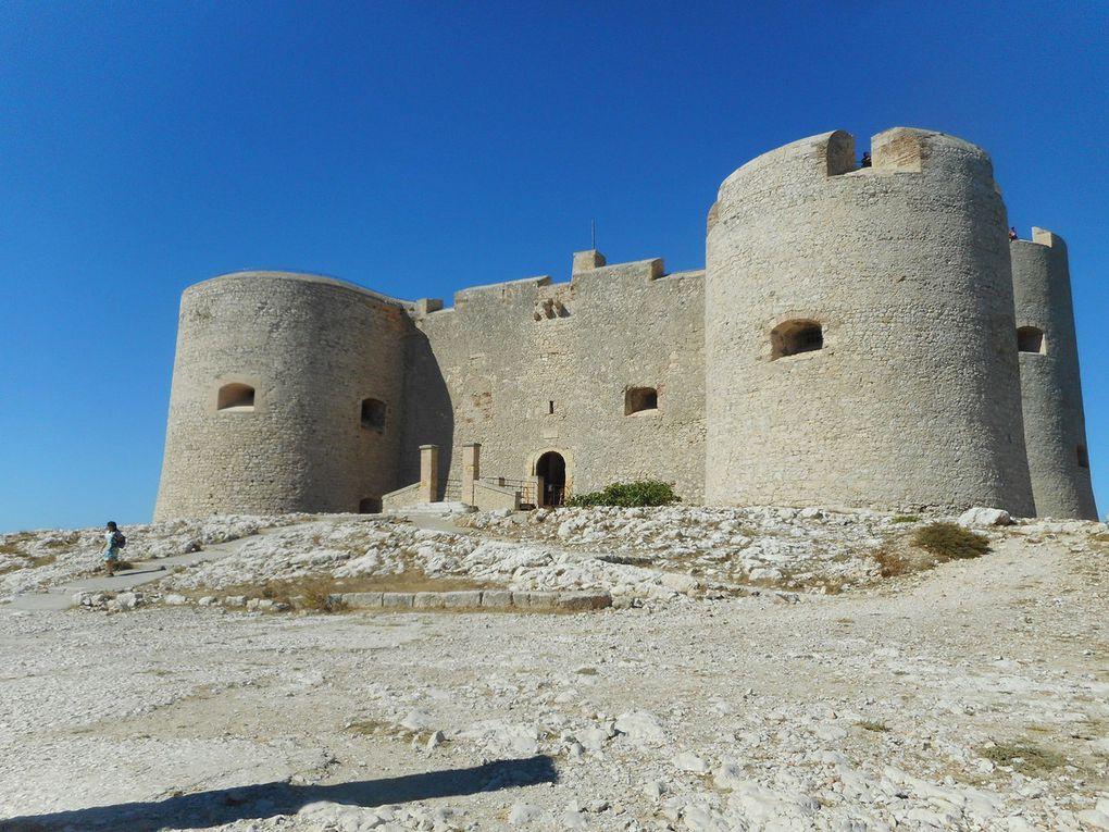 Le château d'If.