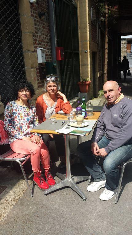 Plume et Bulle, Cook et Book, Bubune et Fabienne.
