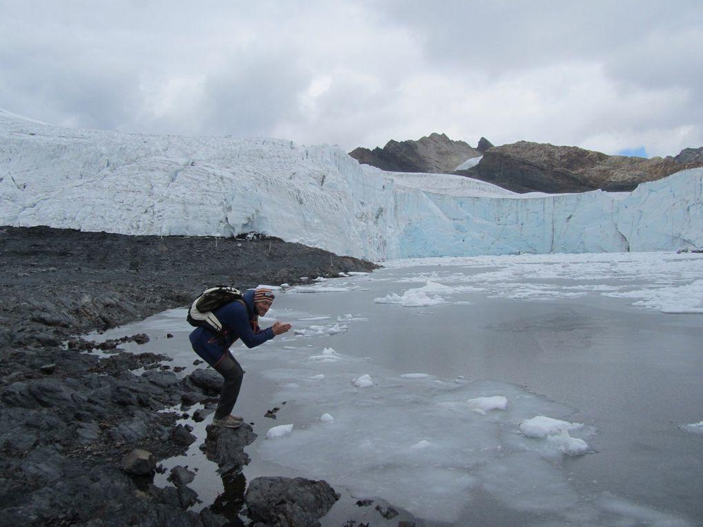 Glacier Pastoruri (5050 m)