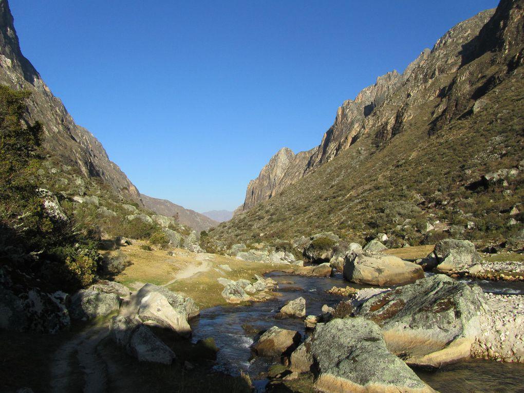 Trek Santa Cruz (altitude maximum 4750 m)