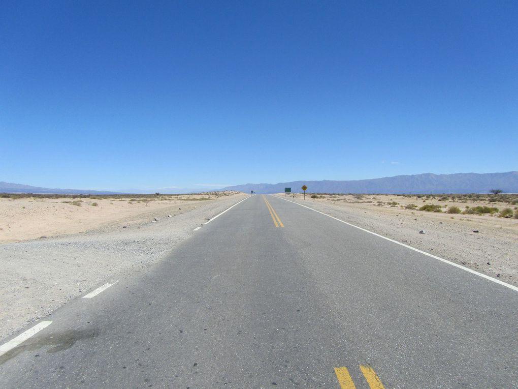 De Cafayate à Mendoza, trop de désert tue le désert!!!