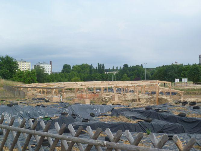 Et la partie la plus intéressante, la partie archéologique!