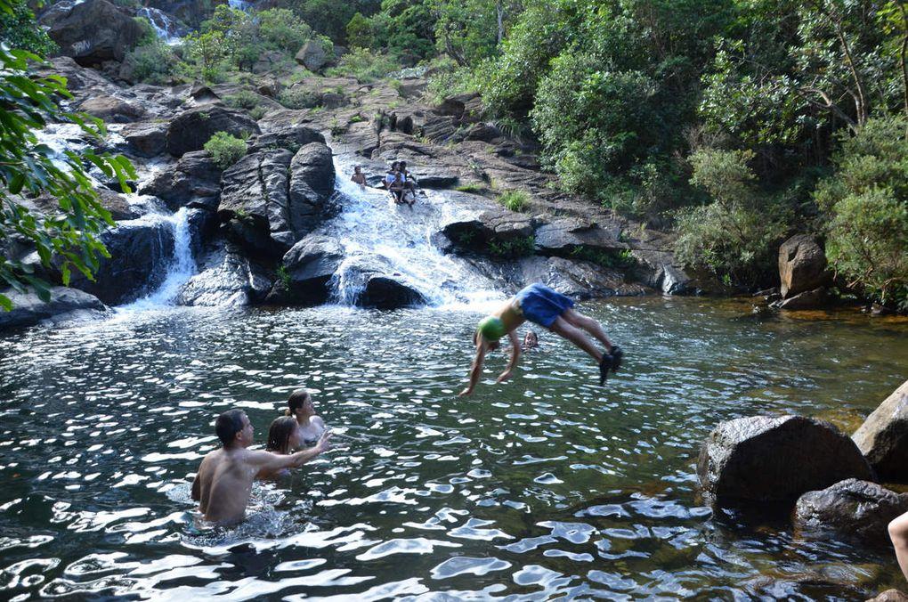 Virée camping - rando - cascades dans le Sud