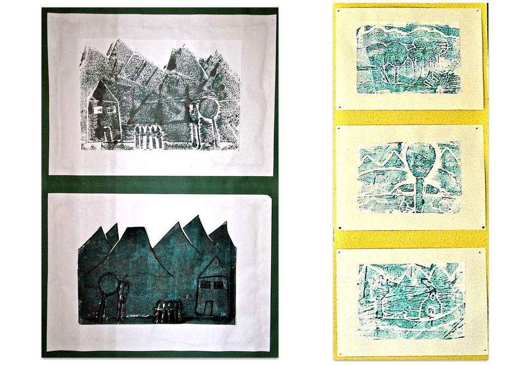 Réalisations d'élèves de l'école de Limeyrat. 1982 --> 2009. Enseignants Josiane et Didier Ballesta.