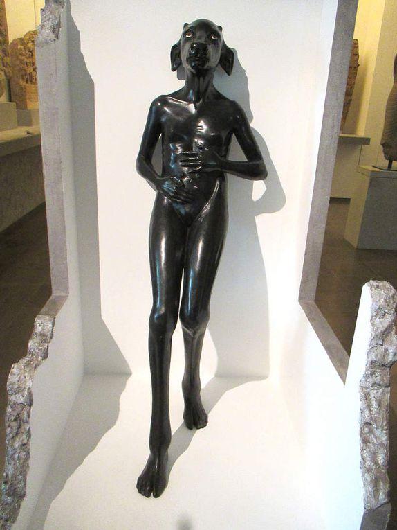 Prune Nourry, Holy carte blanche au musée Guimet