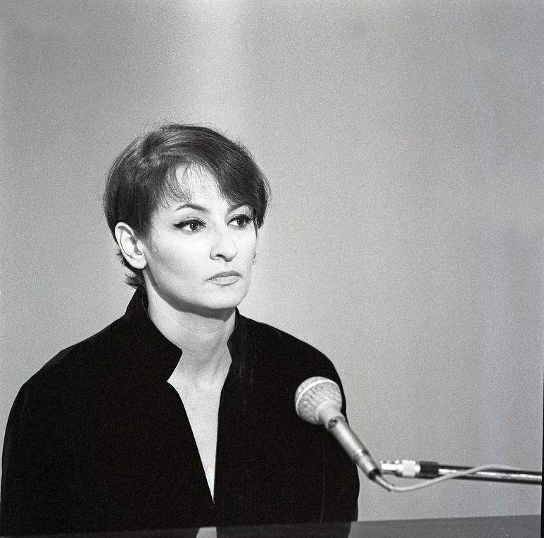 Barbara en 1964 par Stan Wiezniak et en 1968 par Claude Delorme. Photo d'illustration de l'article par Giancarlo Botti.