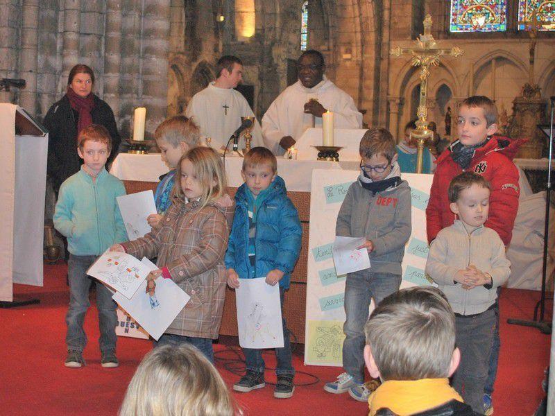Eveil à la foi : messe du 20 novembre
