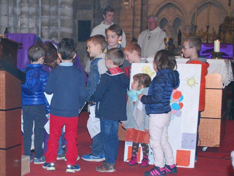 Eveil à la foi : messe en famille du 2 avril 2017