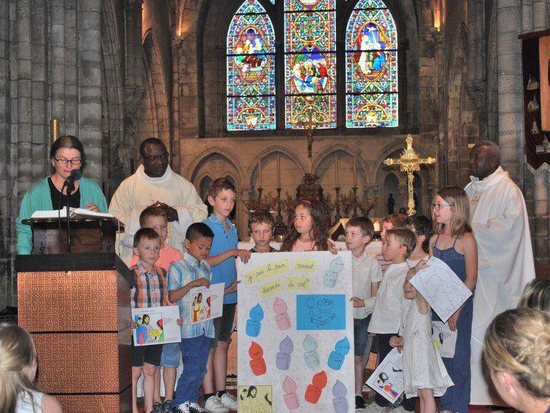 Eveil à la foi - messe en famille du 17 juin 2017