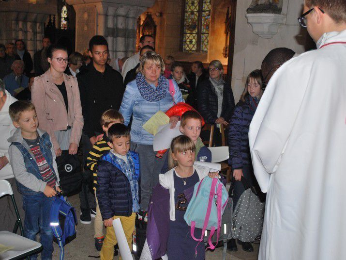 Eveil à la foi - messe du 1er octobre