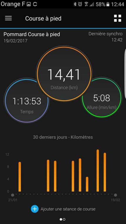 Trail de Pommard (19 février 2017)