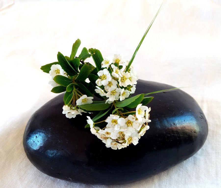Une variante design sur votre bureau : juste une petite ouverture  pour glisser une fleur séchée, une graminée...