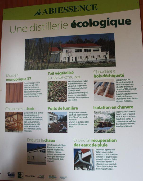 distillerie d'huiles essentielles &quot&#x3B;Abiessence&quot&#x3B; le 12 juin 2015