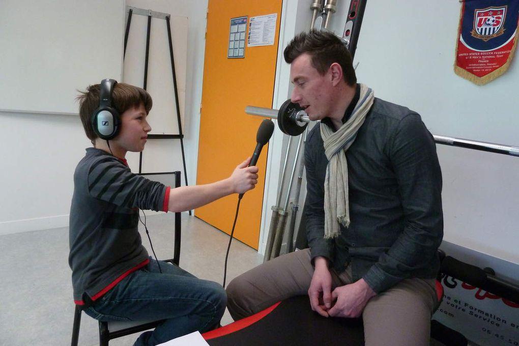 ATELIER PHOTO : Making off interview Sébastien TRINEL