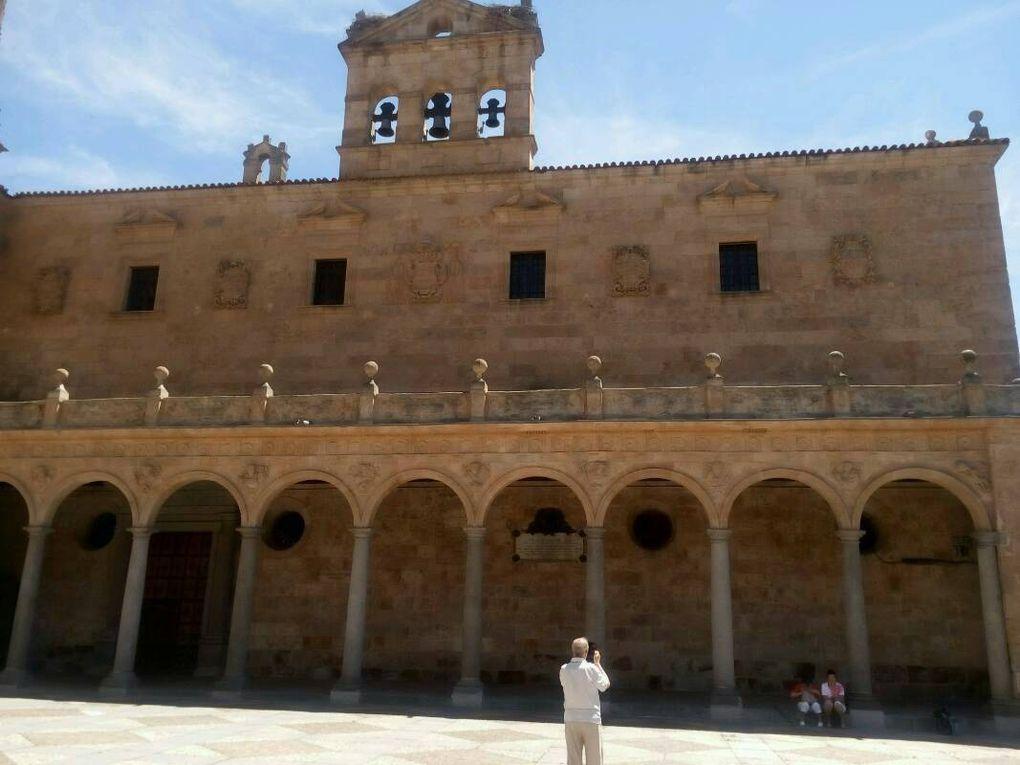 Salamanque : l'église des Dominicains.
