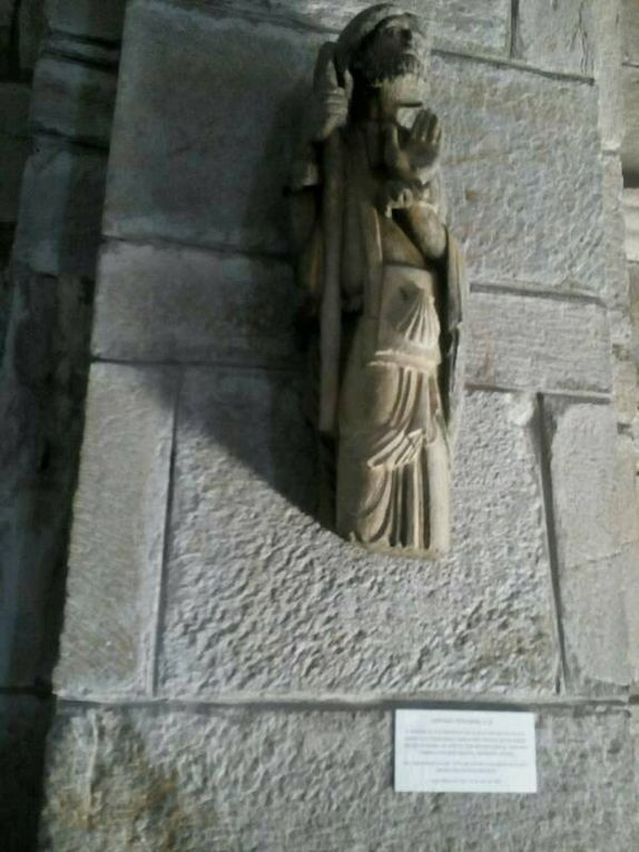 Arrivée à Santa Marta et un saint Jacques.