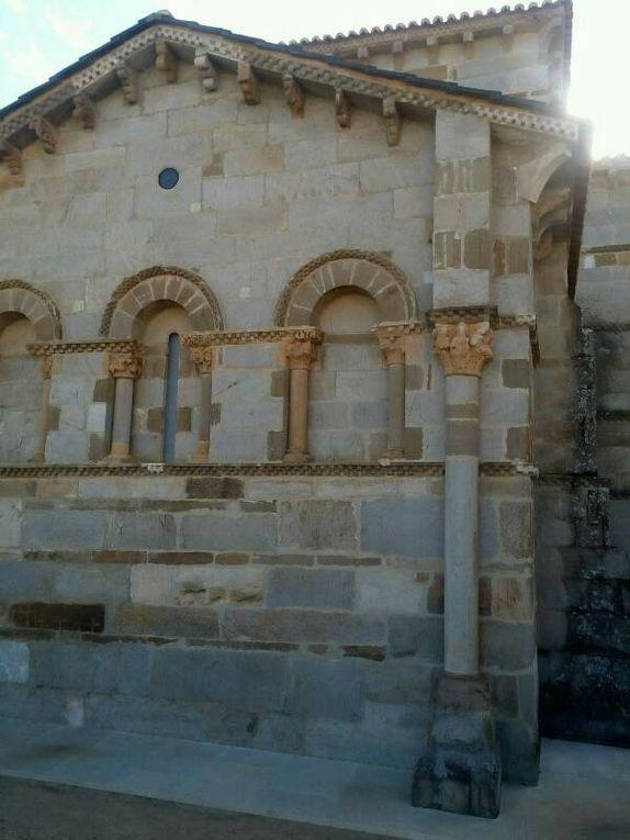 L'église romane de Santa Marta.