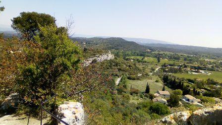Le vieux village d'Eygalières.