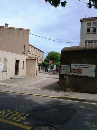 Carcassonne - l'accueil pèlerin Notre-Dame de l'Abbaye.