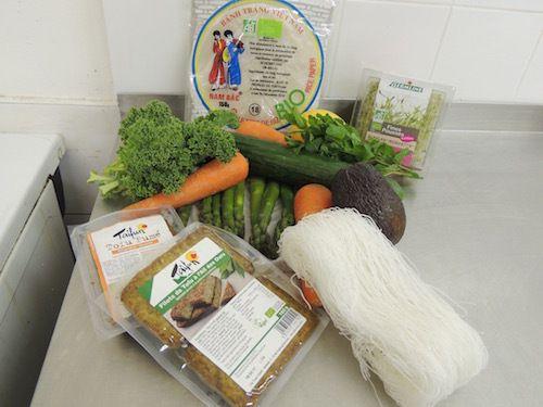 Cosina vegetariana / cuisine végétarienne
