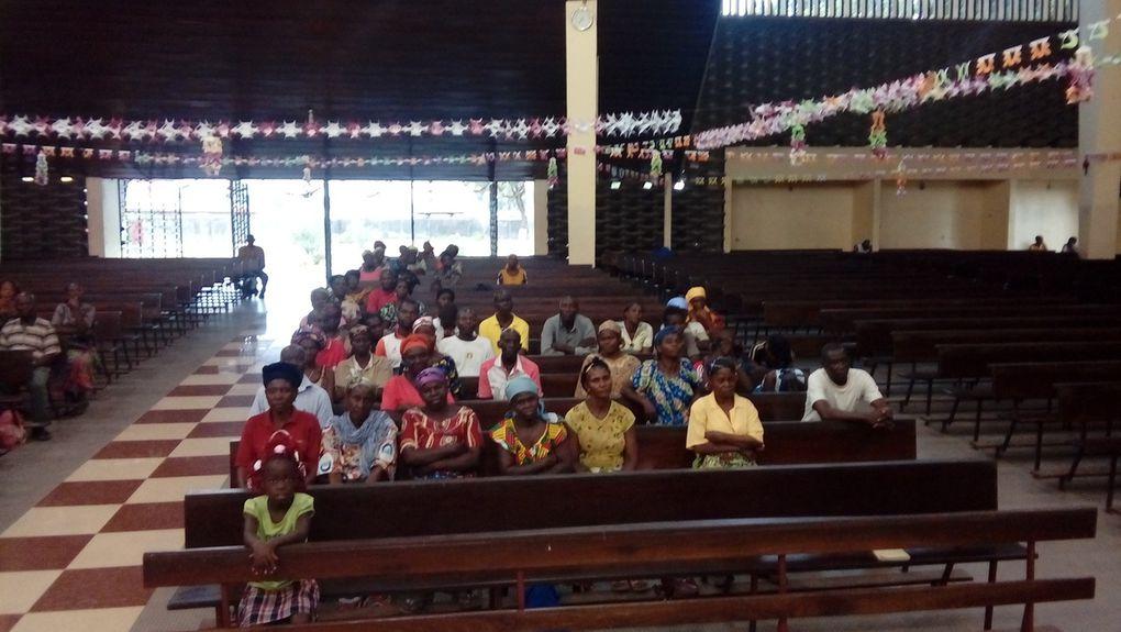 Messe de Noel avec quelques déplacés de Mbandza-Ndounga (Pool)