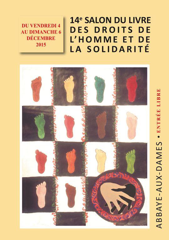 Programme du 14e Salon du Livre des Droits de l'Homme et de la Solidarité