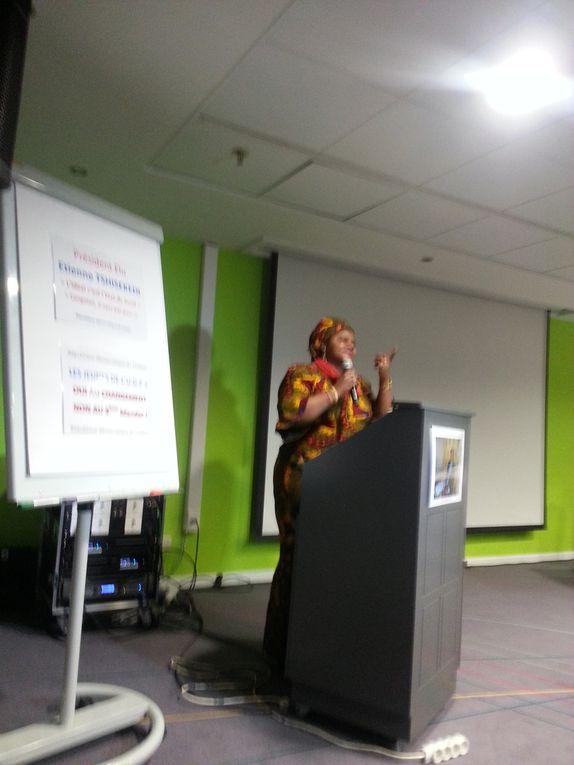 La Ligue des Jeunes UDPS Dorcas Minengo?  Mr Laurent Mutambayi, Ligue des Femmes par la Présidente,