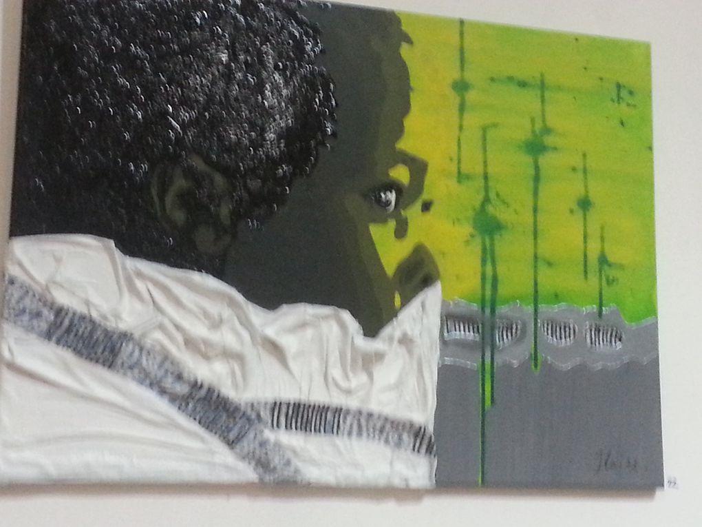 L'ARTISTE BLANCHE DE PEAU MAIS, UN CŒUR AFRICAIN EXPO