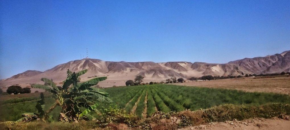 De Trujillo à Andamarca. 16/19 juin 2015