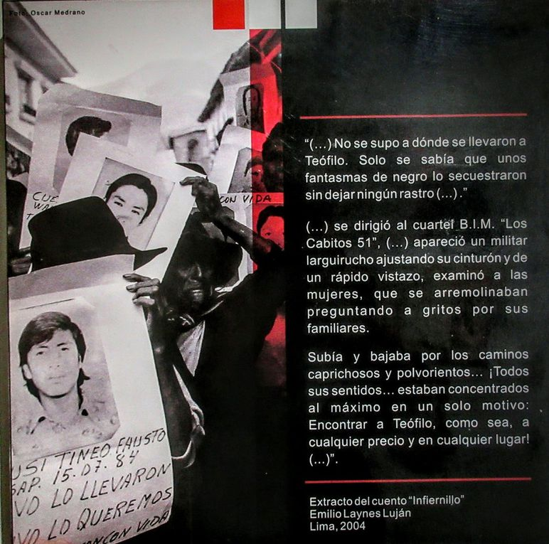 Ayacucho, en plein coeur des Andes et de l'histoire péruvienne. 13/17 septembre 2016