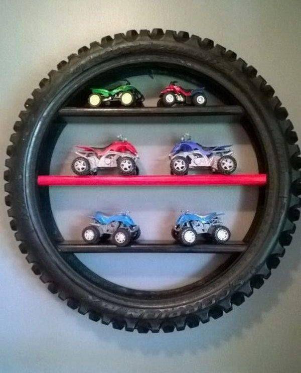 belles idées de décoration avec les pneux