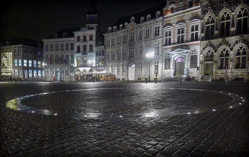 Et après les résultats, Soirée à Mons en Belgique...