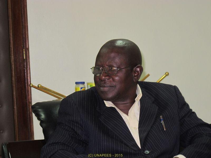 l'UNAPEES rencontre M. Touré Trésorier-Payeur de Rufisque