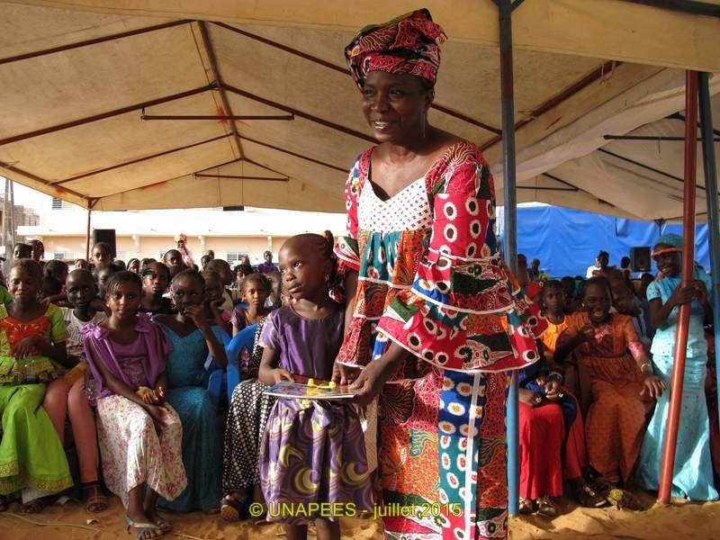Journée de l'Excellence à l'école Thomas Sankara de la cité ASECNA à Yeumbeul